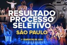 RESULTADO – PROCESSO SELETIVO – SÃO PAULO – 2016/1