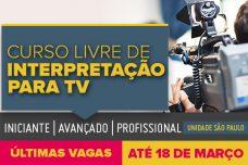 INTERPRETAÇÃO PARA TV