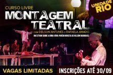 MONTAGEM TEATRAL RIO