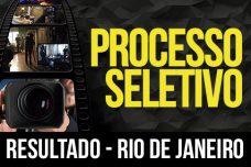 RESULTADO – PROCESSO SELETIVO – 2018-1 – RIO DE JANEIRO