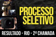 RESULTADO-RIO DE JANEIRO – PROCESSO SELETIVO 2ª CHAMADA 2018-1 –
