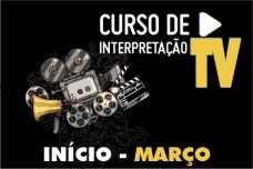 CURSO DE INTERPRETAÇÃO PARA TV E CINEMA – INSCRIÇÕES EM JANEIRO!