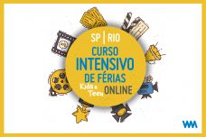 CURSO INTENSIVO DE FÉRIAS ONLINE TURMA KIDS & TEEN 2021