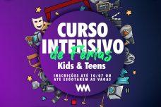 CURSO INTENSIVO DE FÉRIAS ONLINE TURMA KIDS & TEEN 2021.2