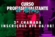 CURSO PROFISSIONALIZANTE DE ATORES - 2º SEMESTRE DE 2021